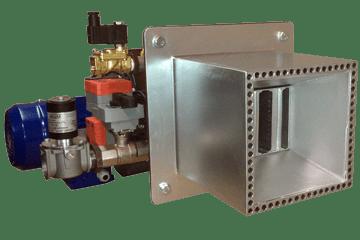 Горелка газовая специальная блочная канальнаяМДГ-Г-50-Б-К